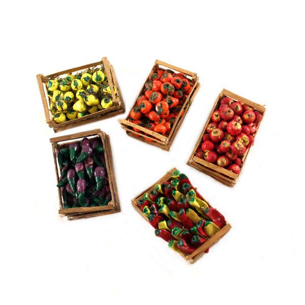 Presepi in miniatura for Elevata progettazione di casette